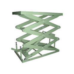 Electric Lift Platform/Table Three-Stage Single-Cylinder