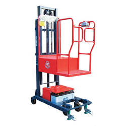 Security Patent Semi-Powered Order Picker Stacker