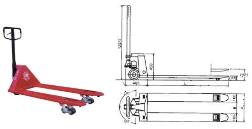 Hand Pallet Truck (2tons/2.5tons/3tons)