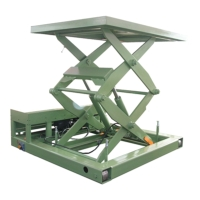 Electric Lift Platform/Table Two-Stage Cylinder