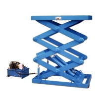Electric Lift Platform/Table Three-Stage 2-Cylinder