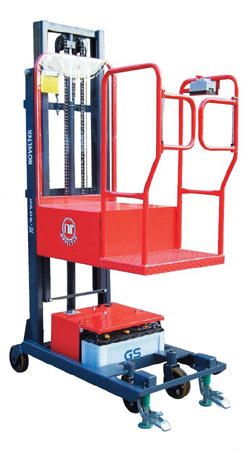 New Security Patent Semi-Powered Order Picker Stacker