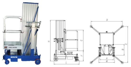 MPL-DC Series Vertical Lift