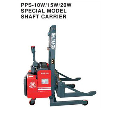 Powered Pallet Stacker with Shaft Carrier
