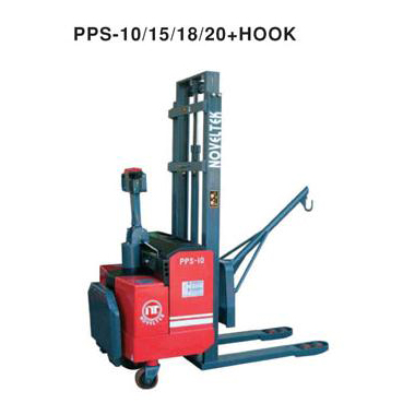 Power Pallet Stacker with Hook