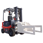 Electric Forklift Truck with Bale Clamp