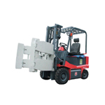 Electric Forklift Truck with Barrels Folder / Roll Folder Clamp